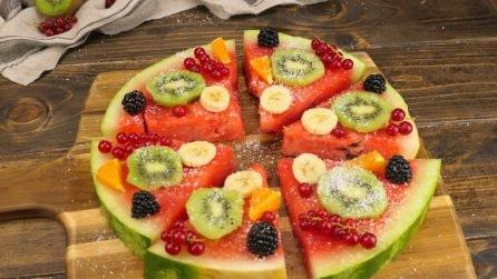 Pizza anguria: l'idea fresca e colorata per l'estate!
