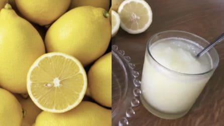 Granita al limone: un dessert fresco per la tua estate