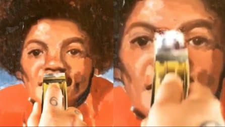 Inizia a grattare il disegno di Michael Jackson: ciò che rivela è incredibile
