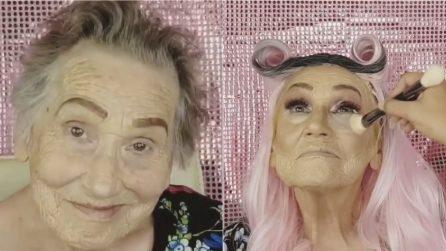 La nonna 81enne chiede alla nipote un trucco particolare: la sorprendente trasformazione