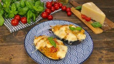 Melanzane ripiene di cous cous: la ricetta estiva perfetta per un pranzo veloce e saporito!