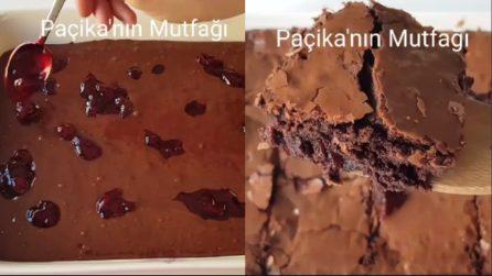 Brownies al cioccolato e marmellata: una coppia perfetta e golosa