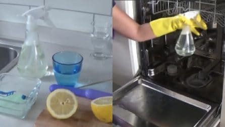 Come pulire la lavastoviglie in maniera efficace e naturale