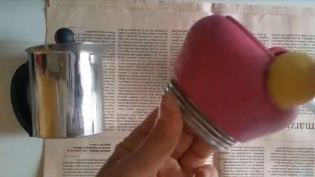 Come trasformare una caffettiera in un bellissimo oggetto d'arredo