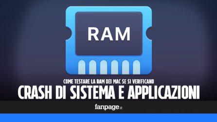 Trucchi Mac: come testare lo stato della memoria RAM