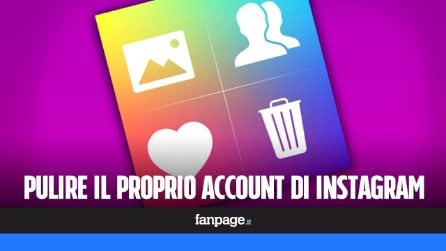 Pulire Instagram eliminando post, follower, following e like automaticamente