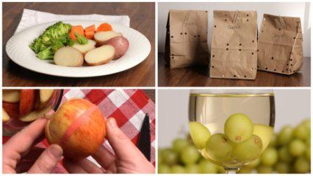 4 trucchi geniali da usare in cucina