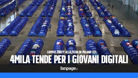 Campus Party, il campeggio (a Milano) per i giovani digitali