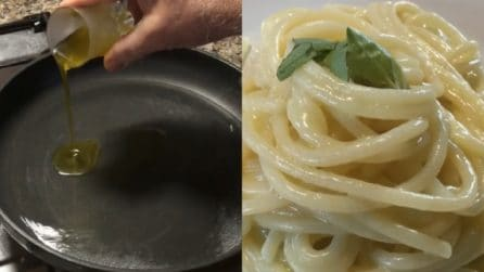 Spaghetti con olio e formaggio: due ingredienti per un primo piatto delizioso