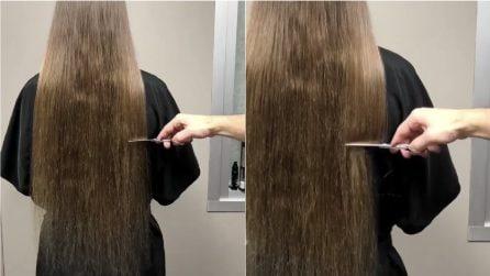 Dopo anni va dal parrucchiere, ma le punte sono rovinate: la soluzione drastica