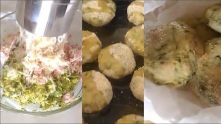Polpette di zucchine e patate al forno: una ricetta gustosa per evitare la frittura