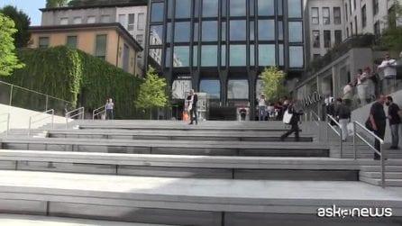 Apre a Milano lo store Apple, tributo alle piazze d'Italia