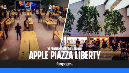 Vi portiamo dentro il nuovo Apple Store di Milano
