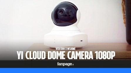 Recensione YI Cloud Dome Camera 1080P: economica e con un ottimo rapporto qualità prezzo