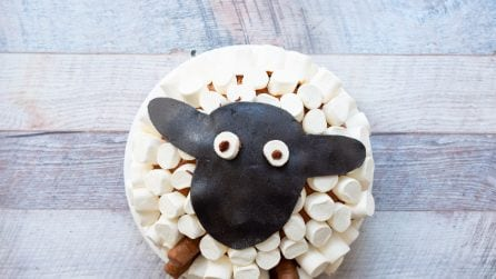Sheep cake: easy and original!