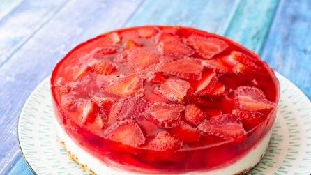 Strawberry cheesecake: the original recipe!