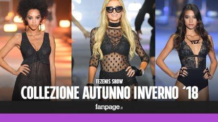 Tezenis Show: sfila la sexy lingerie per l'Autunno/Inverno 2018