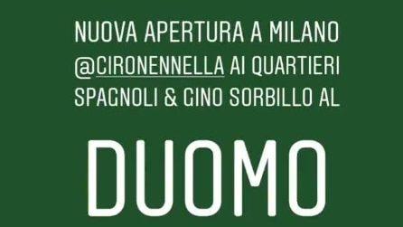 Gino Sorbillo 'benedice' l'apertura della trattoria Nennella a Milano
