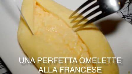 Il trucco per fare una perfetta omelette alla francese
