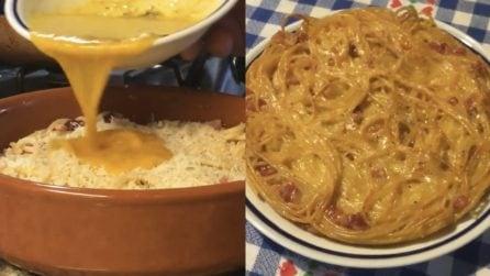 Frittata di carbonara al forno: una ricetta ricca e dall'acquolina in bocca