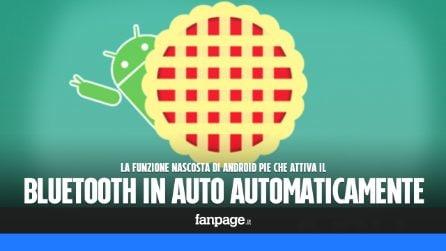 La funzione nascosta di Android Pie che attiva il bluetooth quando si è in auto