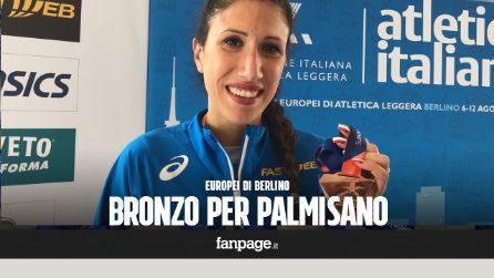 """Europei Atletica Berlino, Antonella Palmisano bronzo nella marcia: """"È il regalo per il mio matrimonio"""""""