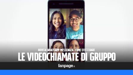 Le videochiamate di gruppo arrivano su WhatsApp: ecco come effettuarle con i propri contatti