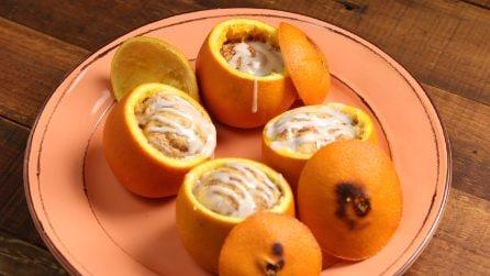 Rotoli di cannella nell'arancia: un metodo sfizioso per servire l'ottimo dessert