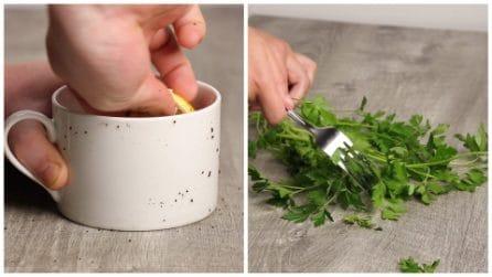 3 ottimi e veloci trucchi da usare in cucina
