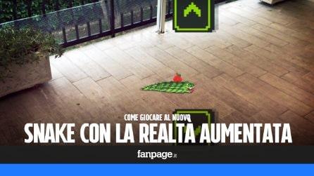 Snake di Nokia arriva su Facebook con la realtà aumentata: ecco come giocarci