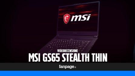 Recensione MSI GS65 Stealth Thin: l'evoluzione dei gaming laptop con nVidia Max-Q