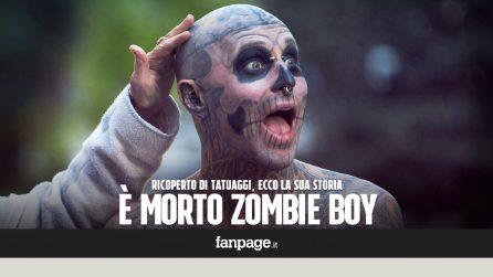 Morto Zombie Boy, addio al modello dei tatuaggi amico di Lady Gaga