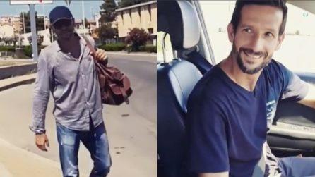 Dà un passaggio a un autostoppista e scopre che è Biagio Antonacci