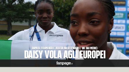 """""""Sono felice, ringrazio tutti"""". Le prime parole di Daisy Osakue dopo l'ok alla partecipazione agli europei"""