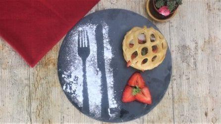 Cupola dolcissima di pasta sfoglia: l'idea per un dessert sorprendente