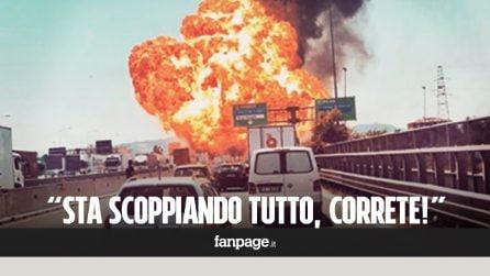 """Esplosione Bologna, le telefonate dei cittadini alla polizia: """"Sta scoppiando tutto, correte!"""""""