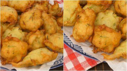Frittelle veloci di zucchine: soffici e buone, si preparano in pochi minuti!