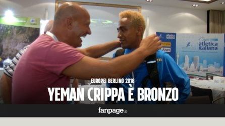 "Europei atletica Berlino, Yeman Crippa è bronzo nei 10mila metri: ""Ora rifacciamolo per i 5 mila"""