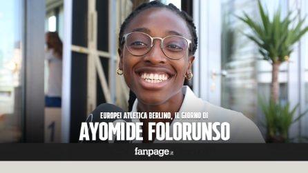 """Europei atletica Berlino 2018, Ayomide Folorunso: """"La nostra foto ha fatto clamore? Colpa del clima"""""""