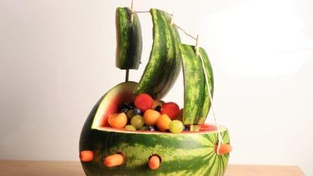 Come creare un veliero con l'anguria: l'idea speciale che stupirà tutti i tuoi ospiti