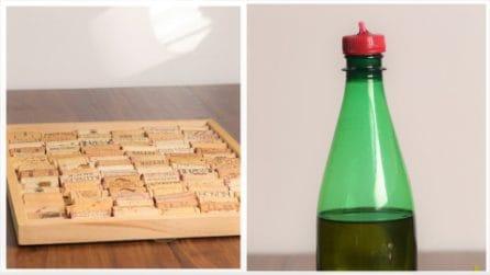 Come riciclare tappi di plastica e sughero in modo geniale