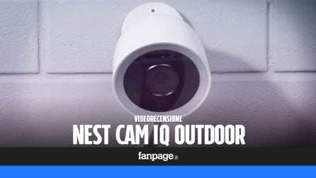 Recensione Nest Cam IQ Outdoor, la migliore telecamera da esterni con sensore 4K