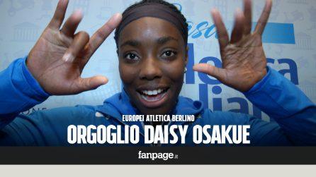 """Europei atletica Berlino, Daisy Osakue acclamata da tutti arriva quinta: """"Debolezze sono mia forza"""""""