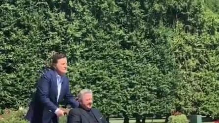 Massimo Boldi e Christian De Sica in 'Amici come prima': le prime immagini