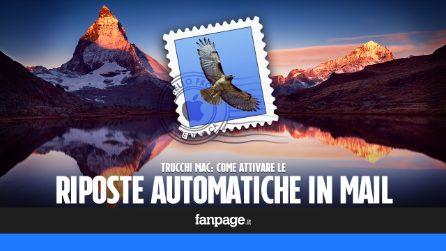 """Attivare le risposte automatiche """"Out of office"""" in Mail di macOS prima delle ferie"""