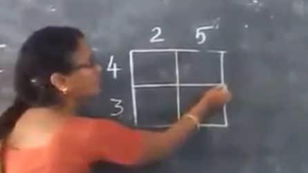 Insegna un metodo velocissimo per fare delle moltiplicazioni senza calcolatrice