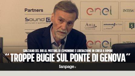 """Crollo ponte Genova, Delrio: """"Troppe bugie in questi giorni, manderò querele a chi mi ha diffamato"""""""