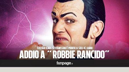 "E' morto il Robbie Rancido di ""Lazy Town"": Stefán Karl Stefánsson aveva solo 43 anni"