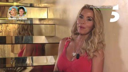 """Valeria Marini e Patrick Baldassari a Temptation Island Vip: """"Lei ha un carattere difficile"""""""