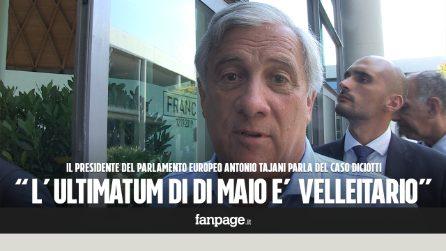 """Tajani a Di Maio: """"Inutile minacciare l'Ue, serve solo ai sondaggi e non risolve problema migranti"""""""
